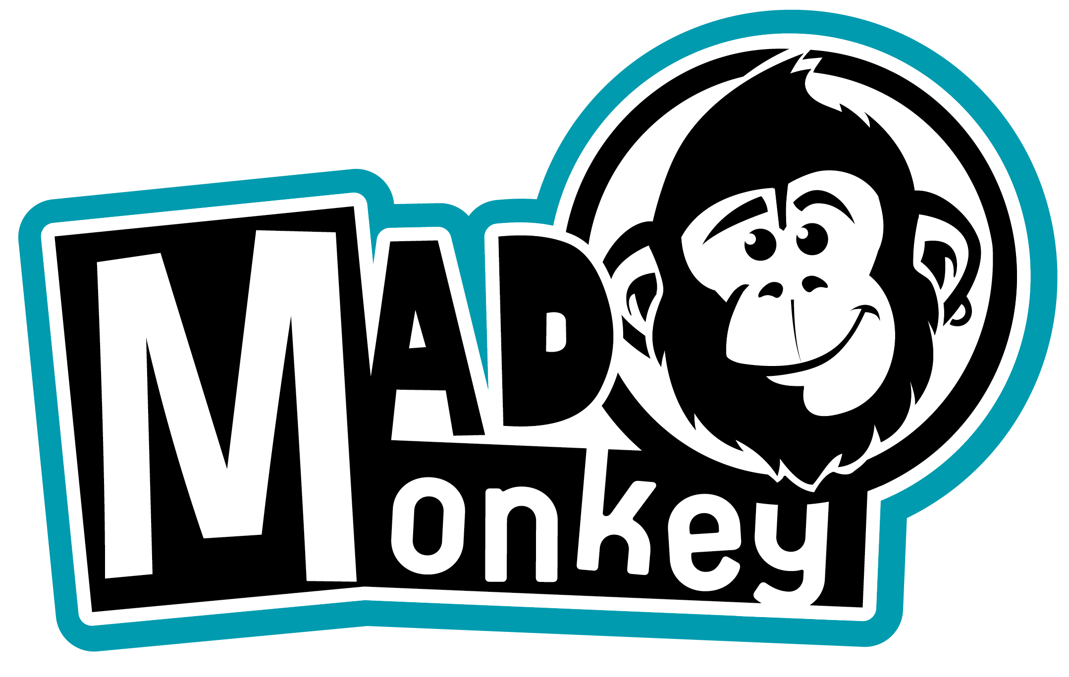 Logo Mad Monkey Bleu